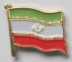 Iran Country Flag Enamel Pin Badge